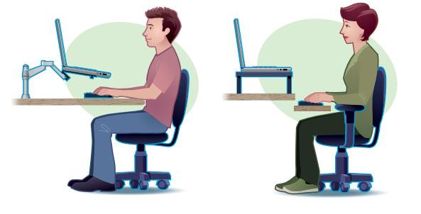 votre bureau est il ergonomique is your workplace ergonomic iceratec. Black Bedroom Furniture Sets. Home Design Ideas